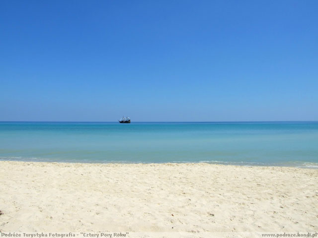 Tunezja Sousse - Statek na horyzoncie