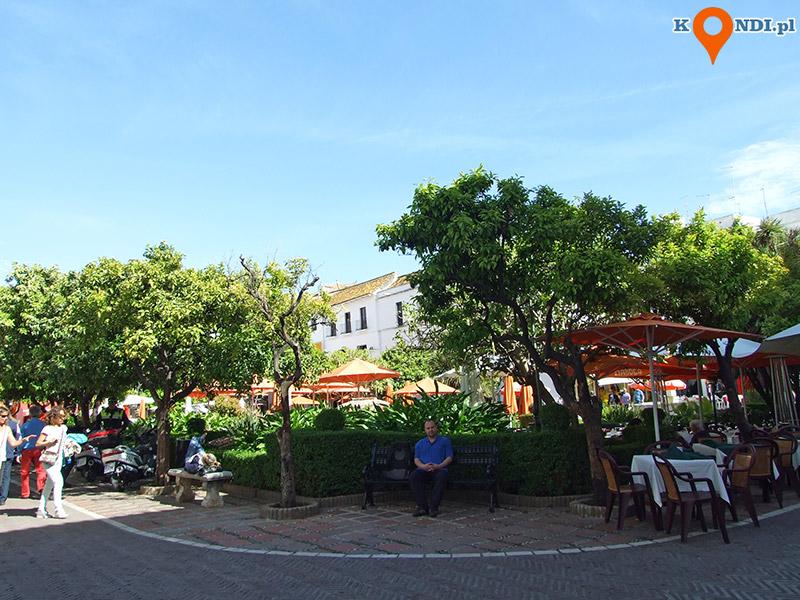 Hiszpania Marbella - Plac Pomarańczy