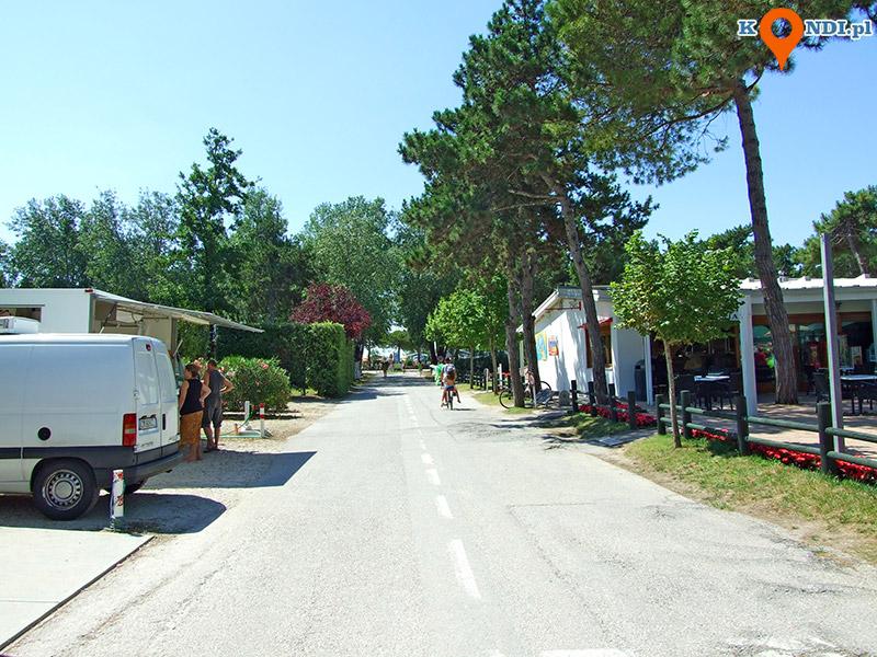 Włochy Bibione Pineda - Lido to świetny camping nad Adriatykiem