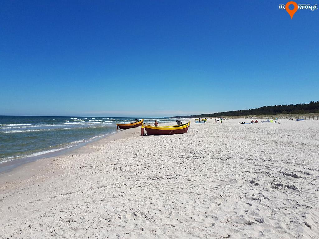 Polska Dębki - Plaża Dębki