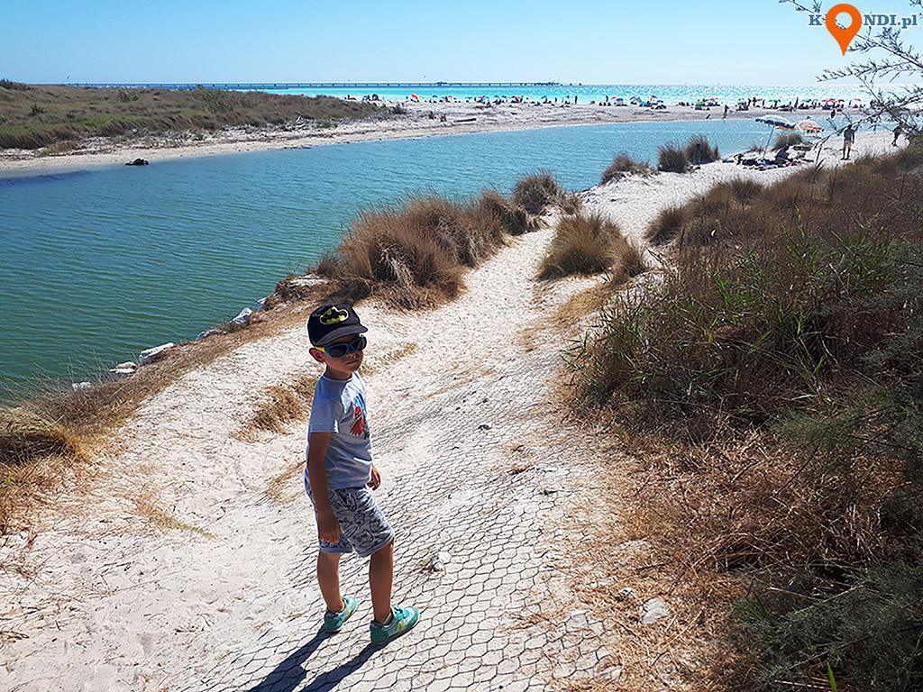 Włochy Rosignano Solvay - Biała Plaża