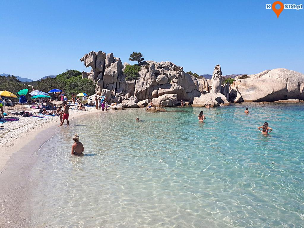 Sardynia Cala Girgolu - Plaża Squadrone o delle Vacche