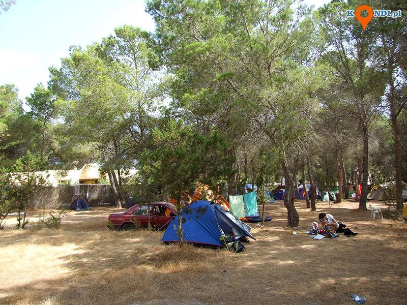 Ibiza Sant Josep de sa Talaia - Camping Cala Bassa