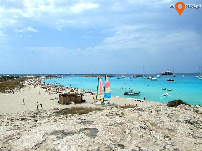 Formentera Ses Salines - Kolor morza powala
