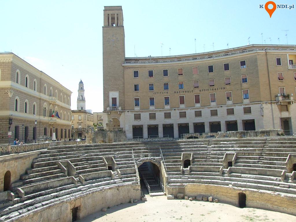 Włochy Lecce - Rzymski amfiteatr z I stulecia p.n.e.