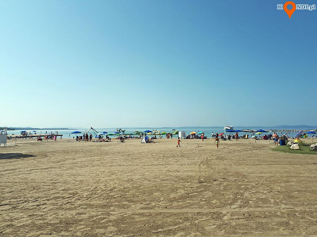 Chorwacja Nin - Plaża Zaton