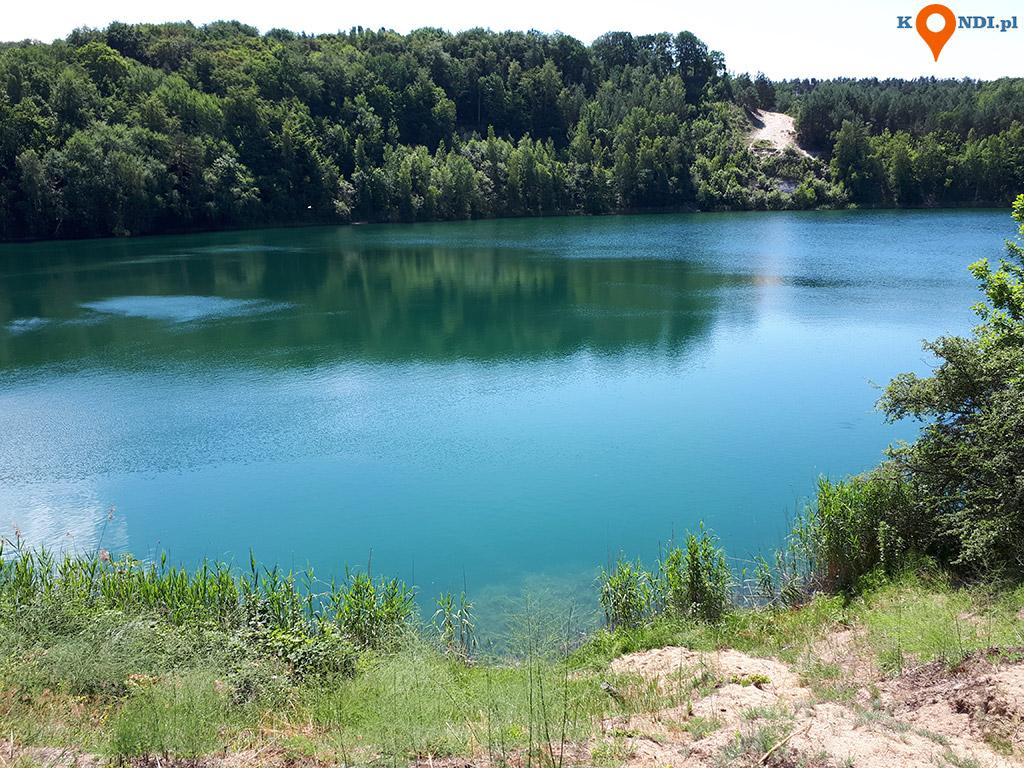 Polska Wapnica - W słoneczne dni woda ma niesamowity, zielononiebieski kolor