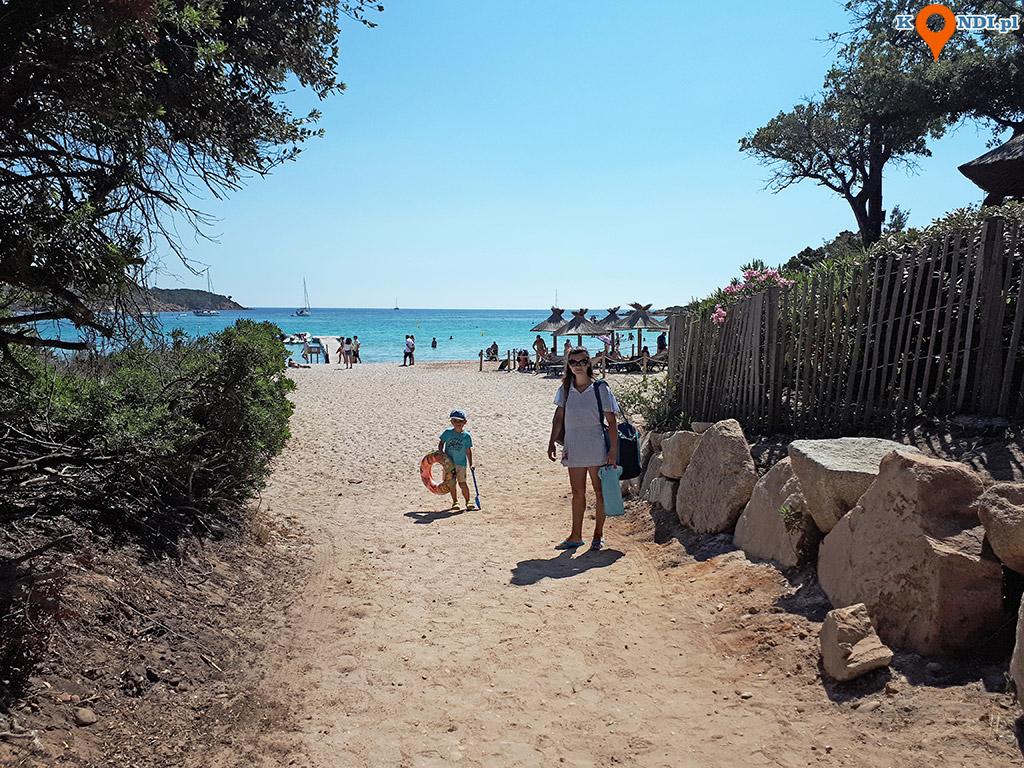 Korsyka Bonifacio - Plaża Rondinara