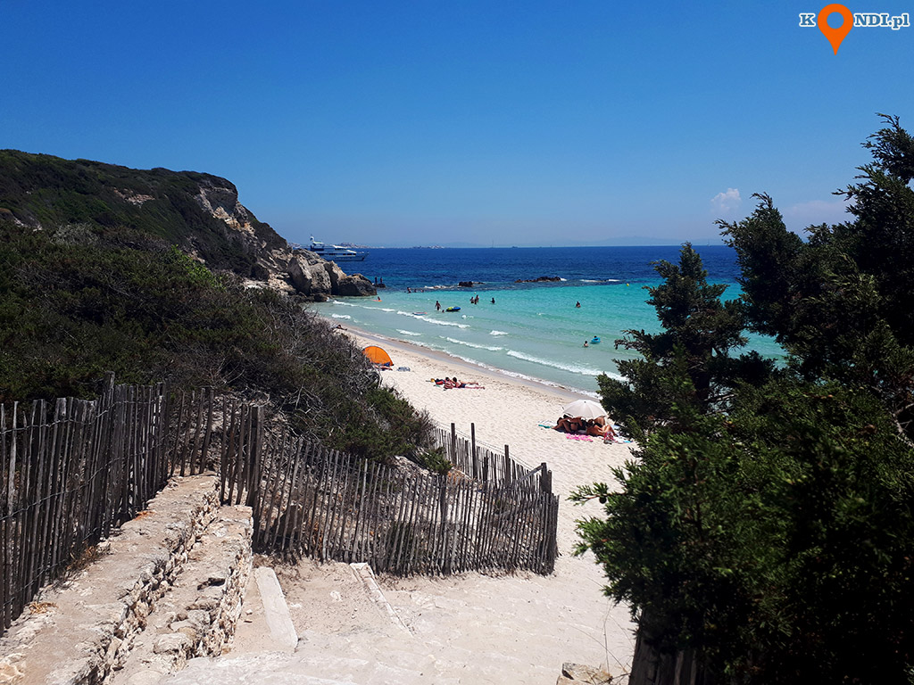 Korsyka Bonifacio - Plaża Grande Sperone
