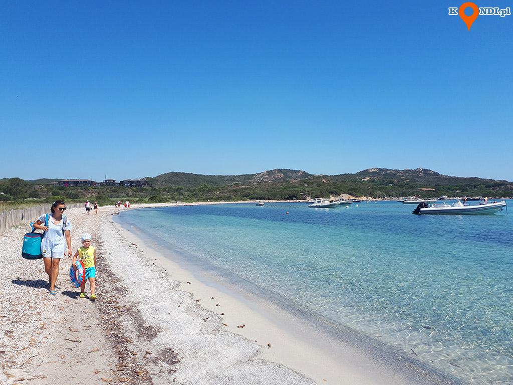Korsyka Bonifacio - Plaża Piantarella
