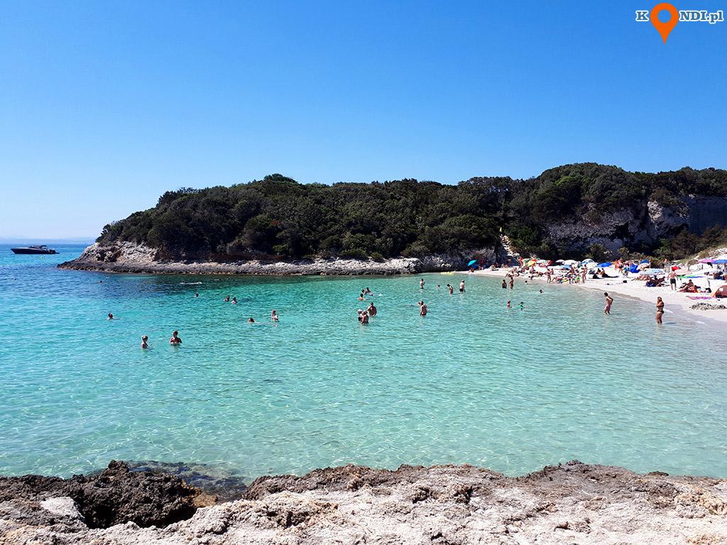 Korsyka Bonifacio - Plaża Petit Sperone