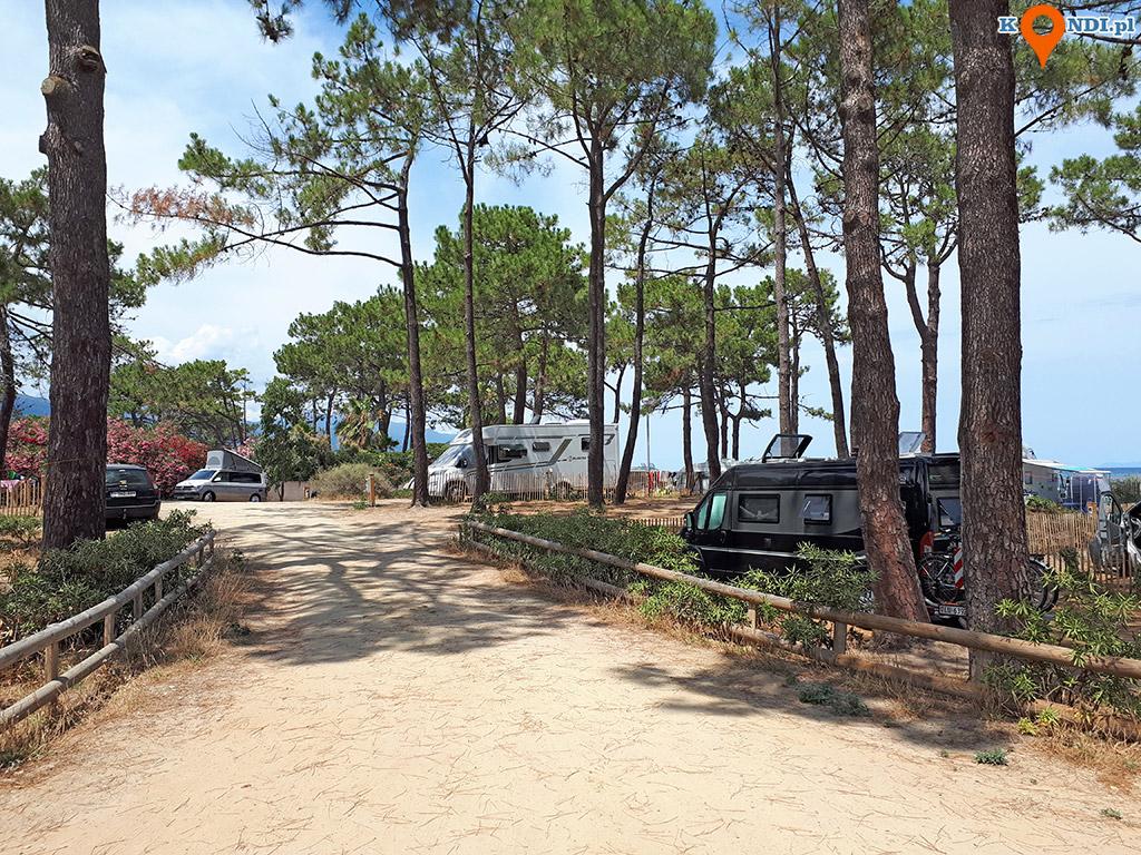 Korsyka Biguglia - Camping San Damiano