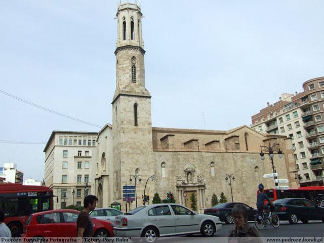 Hiszpania Walencja - Kościół św. Augustyna