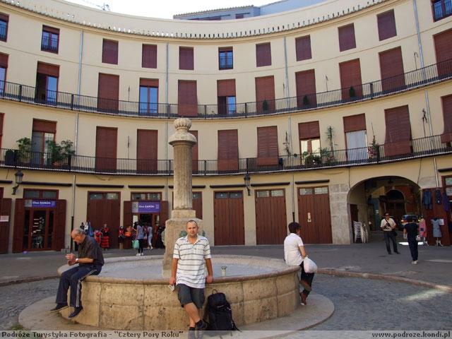 Hiszpania Walencja - Plac Redona