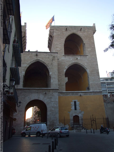 Hiszpania Walencja - Brama Quart