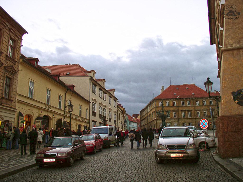 Czechy Praga - Spacerek ulicami Pragi